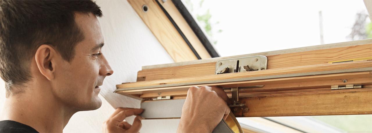 professionelle wartung von velux dachfenstern. Black Bedroom Furniture Sets. Home Design Ideas