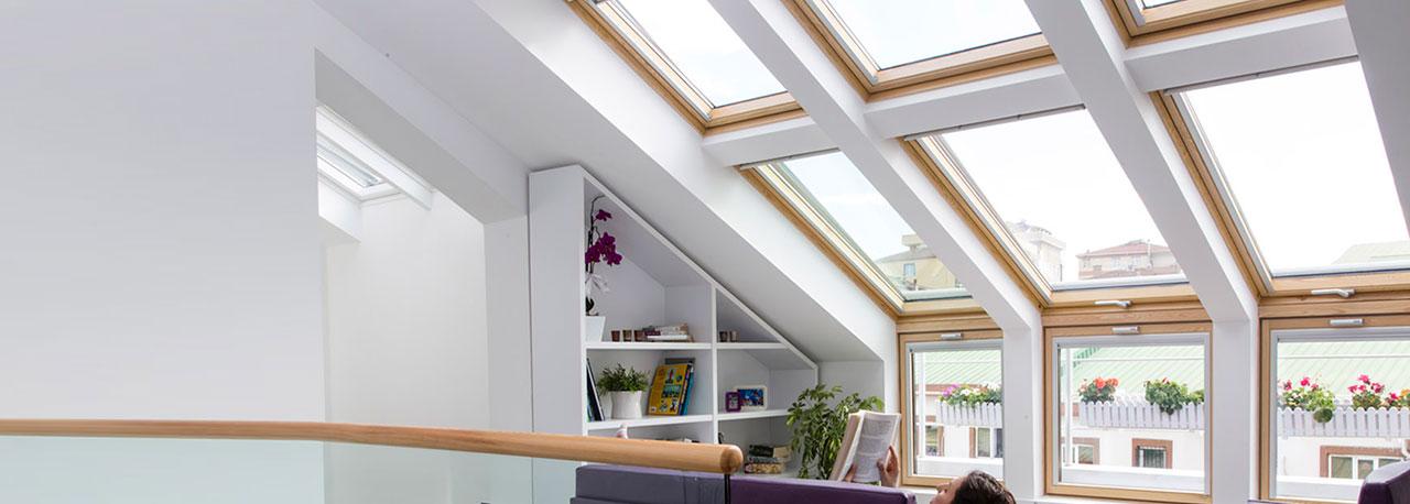 velux klapp schwingfenster toller panorama ausblick. Black Bedroom Furniture Sets. Home Design Ideas