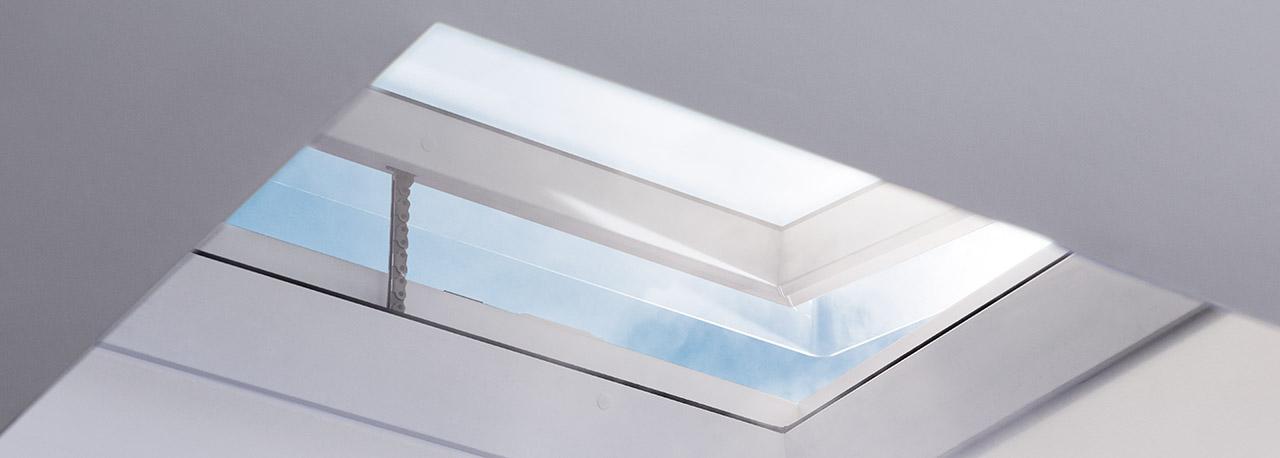 VELUX Dachflächenfenster, Flachdach-Fenster, Tageslicht ...